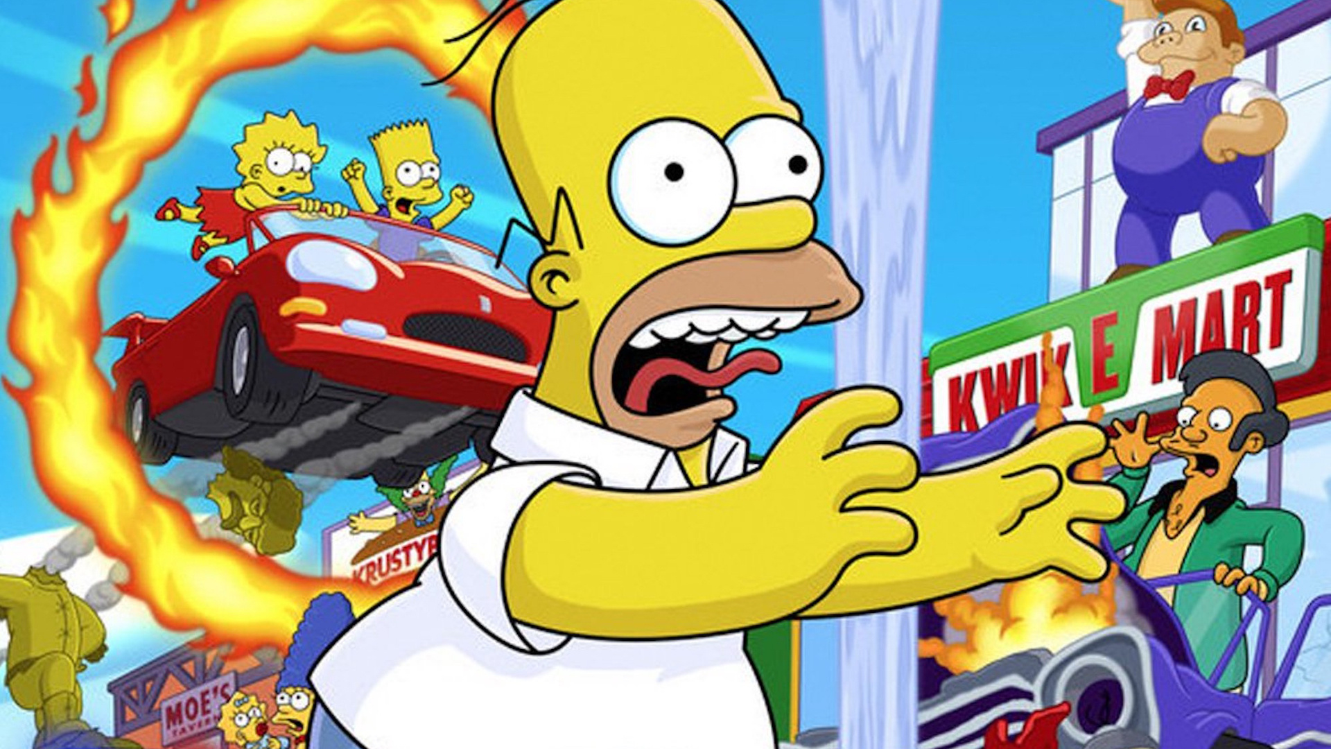 Ps2 Fan Favourite Simpsons Hit And Run Almost Had A Sequel Push Square