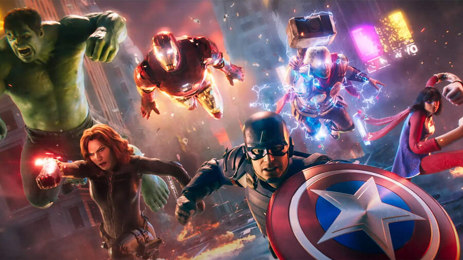Marvel's Avengers PS5 PlayStation 5