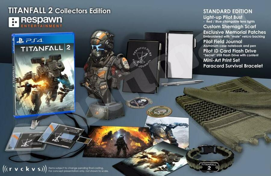 Titanfall 2 Collector's Edition PS4 PlayStation 4 1