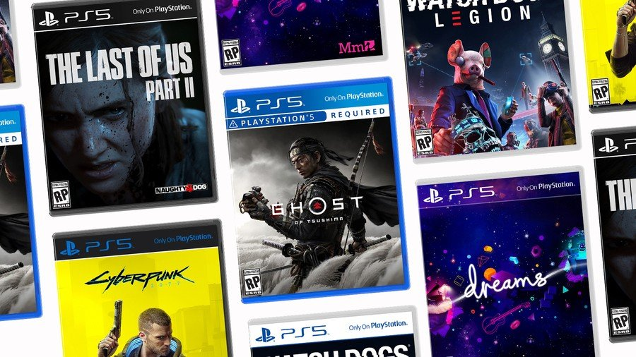 PS5 PlayStation 5 Box Art Sony 1
