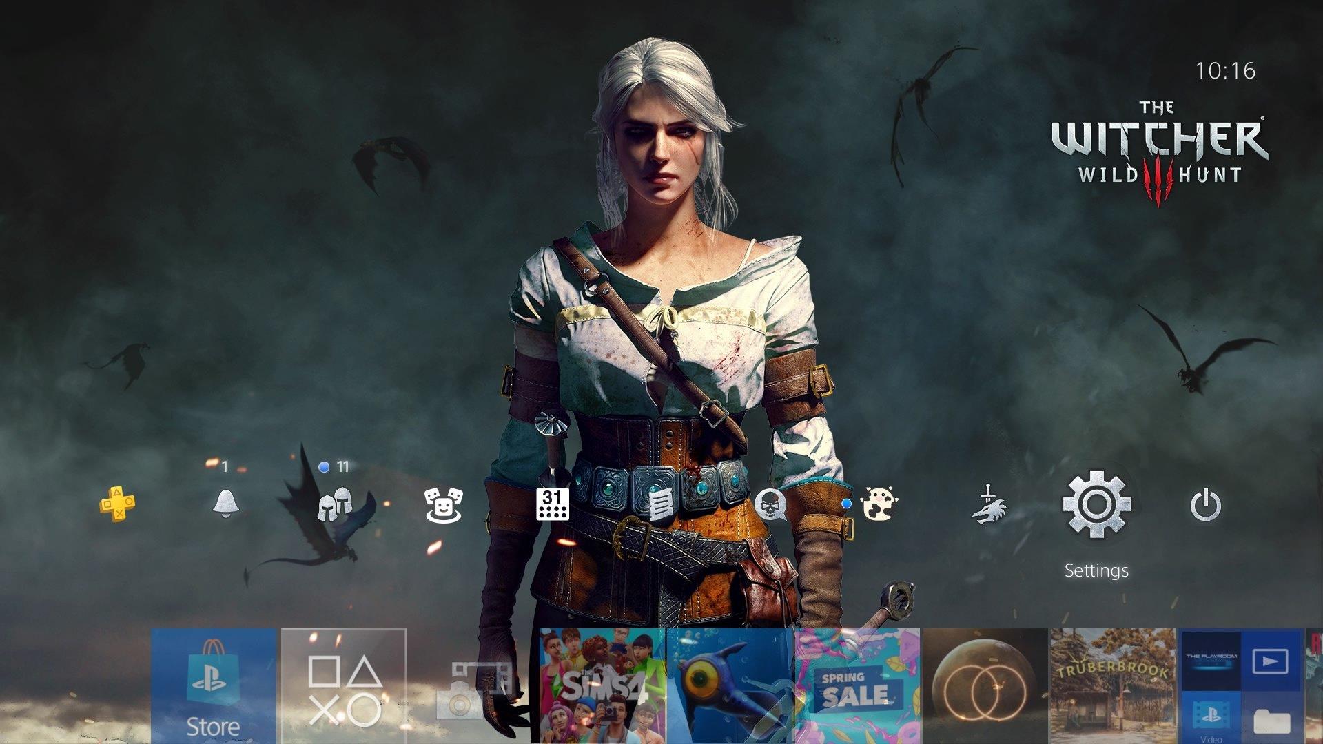 the witcher 3 wild hunt geralt and ciri theme.original - PlayStation 4 - Guida: i migliori temi gratuiti da scaricare
