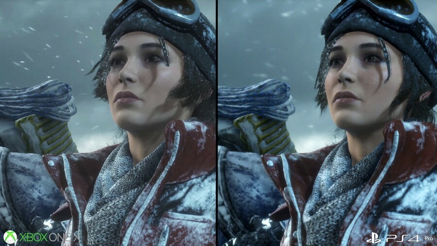 Rise of the Tomb Raider PS4 Xbox One X 1