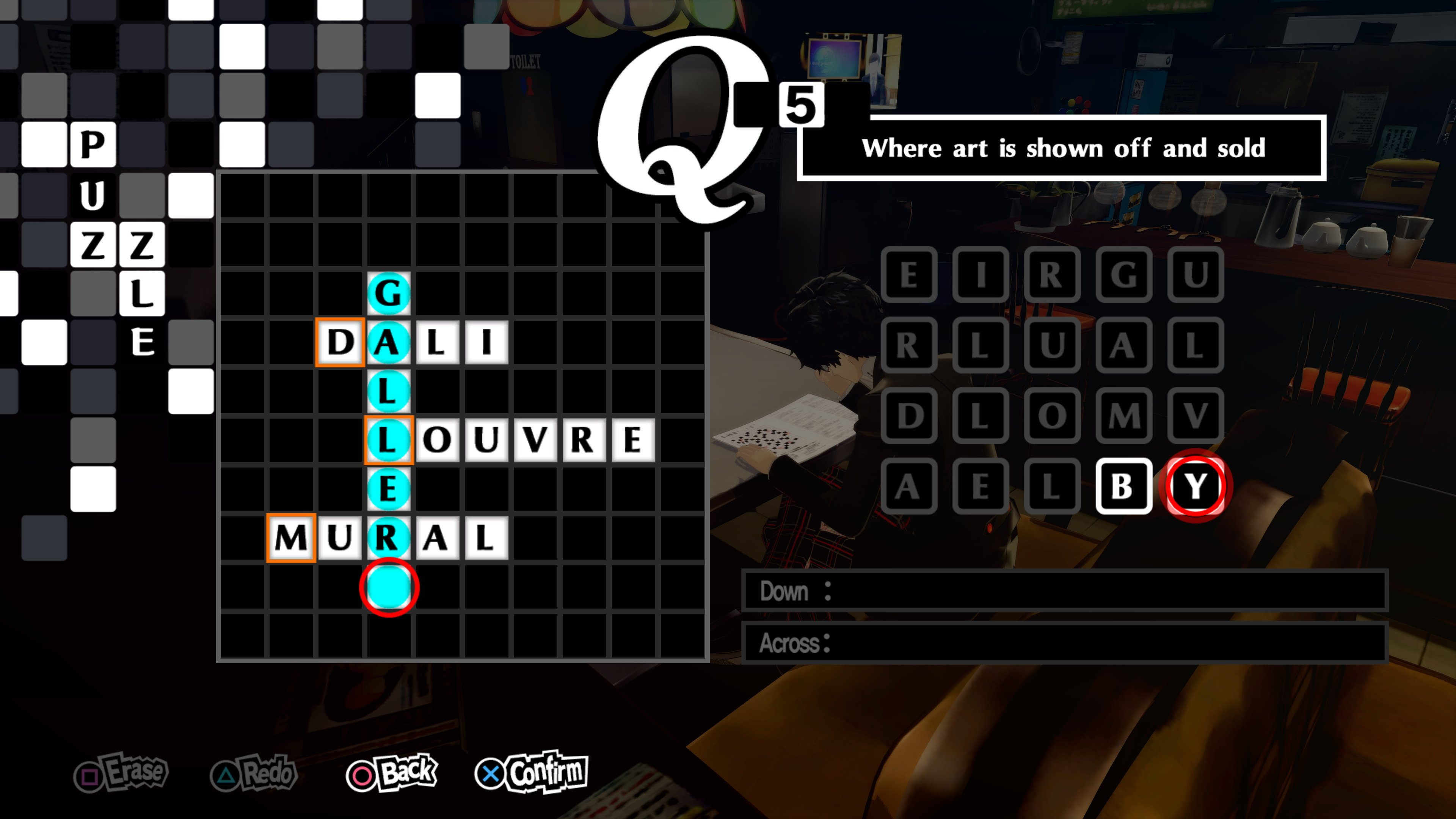 Persona 5 Royal Crossword Answers All Crossword Puzzles Solved Push Square