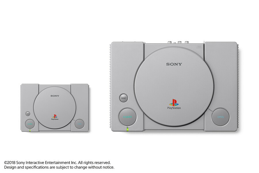 PlayStation Classic PS1 PSone Sony