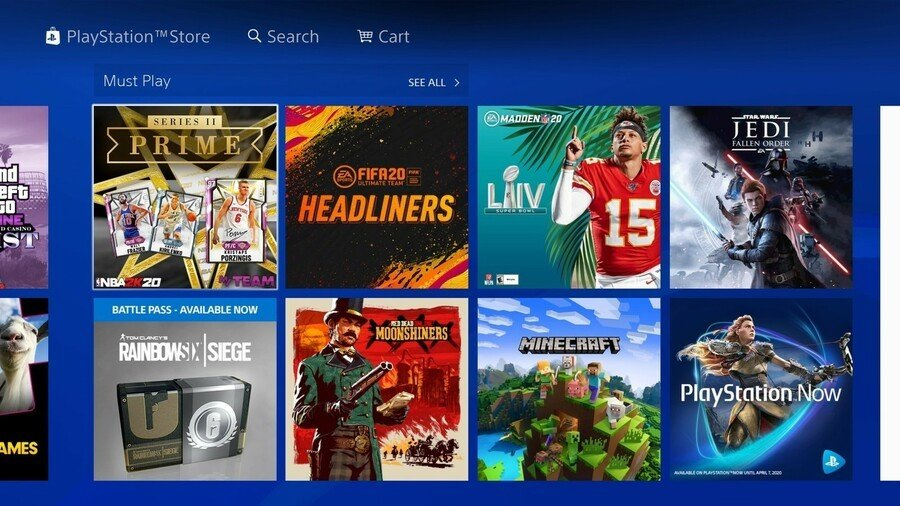 PS Store PlayStation Store 1