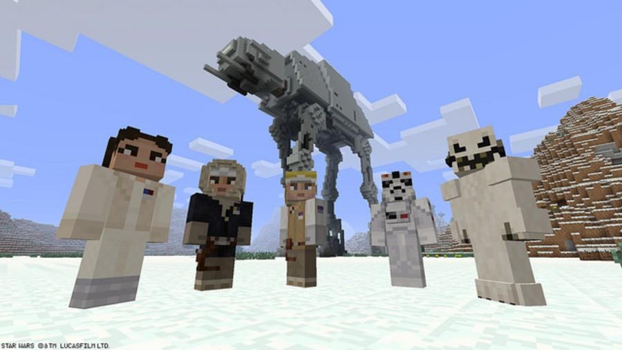 Minecraft Star Wars PS4 PlayStation 4 1