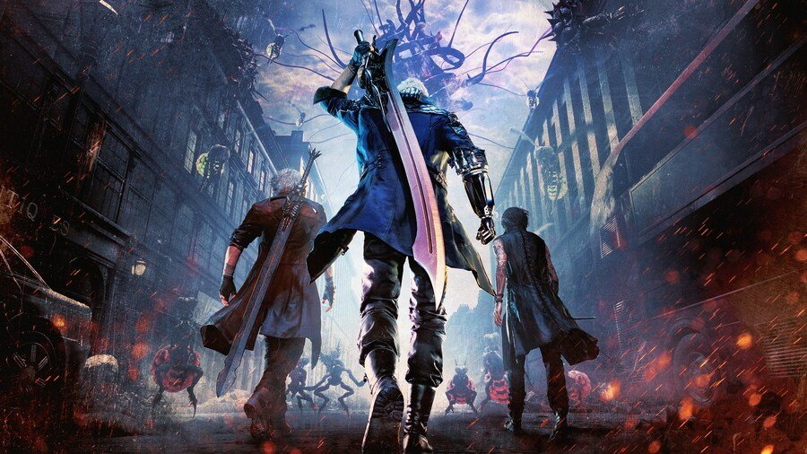 Devil May Cry 5 PS4 PlayStation 4 Big in Japan PS Store Sale Europe