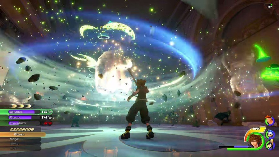 How to Switch Between Attractions and Special Attacks in Combat in Kingdom Hearts 3