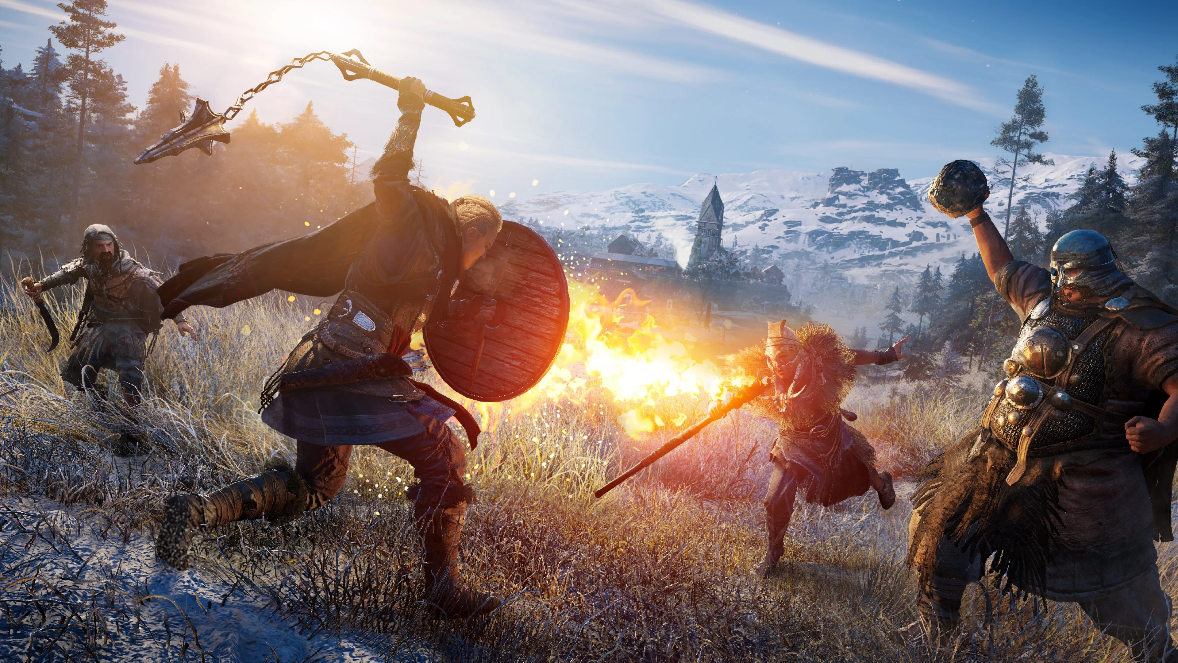 Assassin S Creed Valhalla Has World Events Rather Than Side Quests