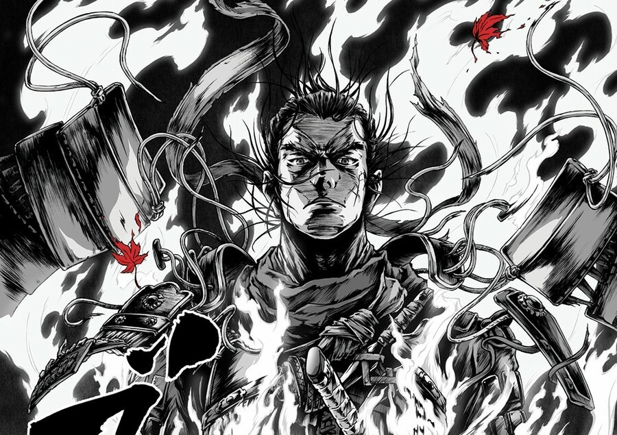 Ghost Of Tsushima Manga Posters