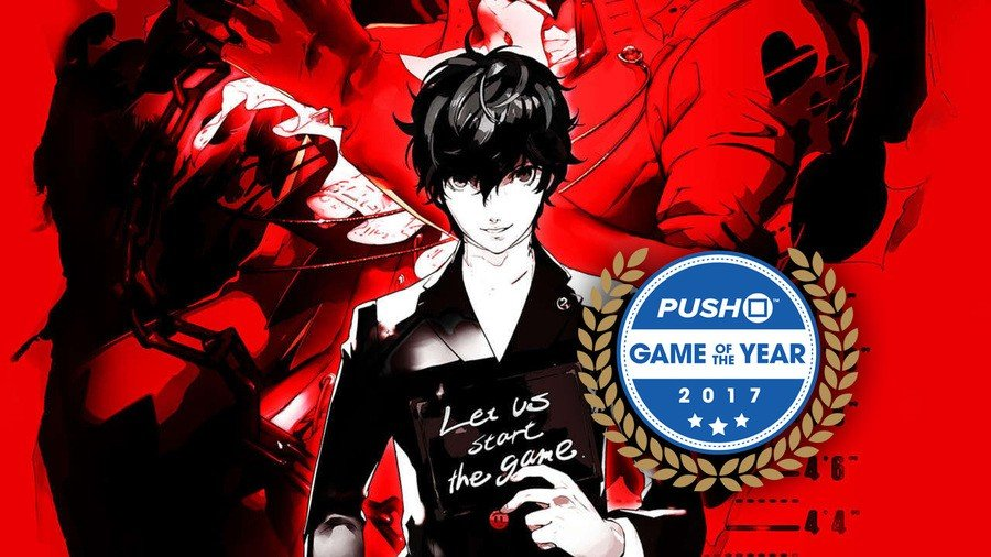 Persona 5 Game of the Year 2017
