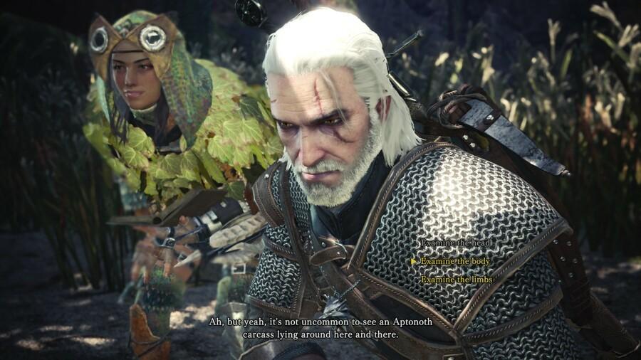 Monster Hunter World Geralt