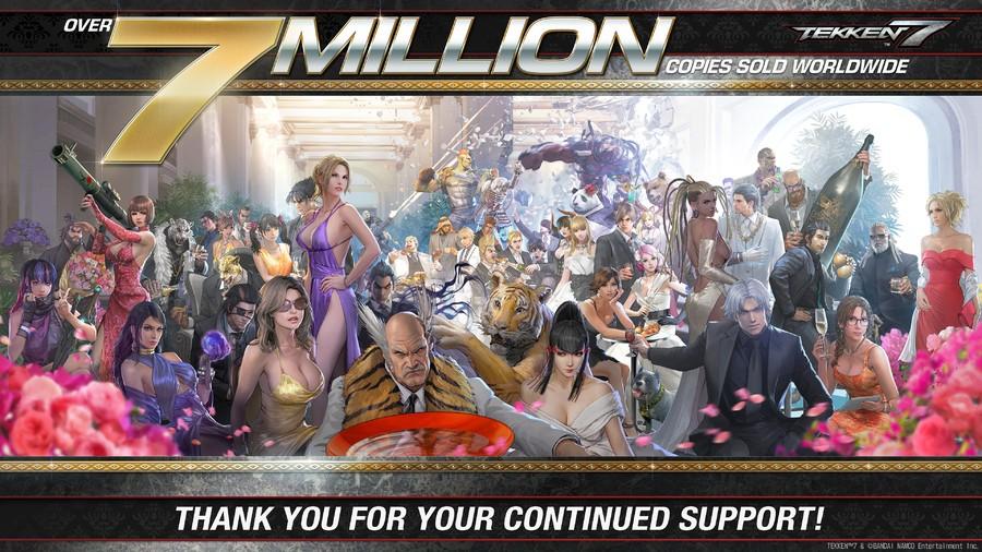 Tekken 7 Sales 7 Million