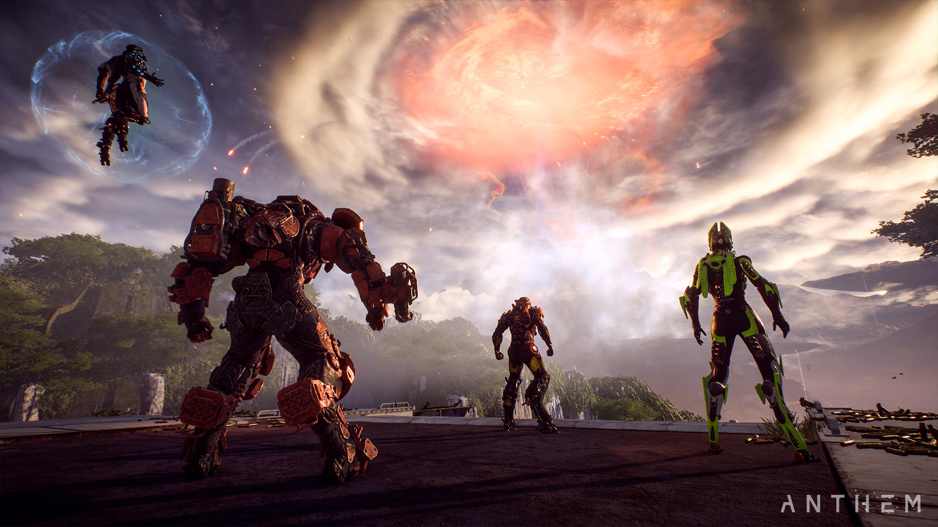 Anthem: Bioware Breaks the Silence, but Postpones the Cataclysm Event