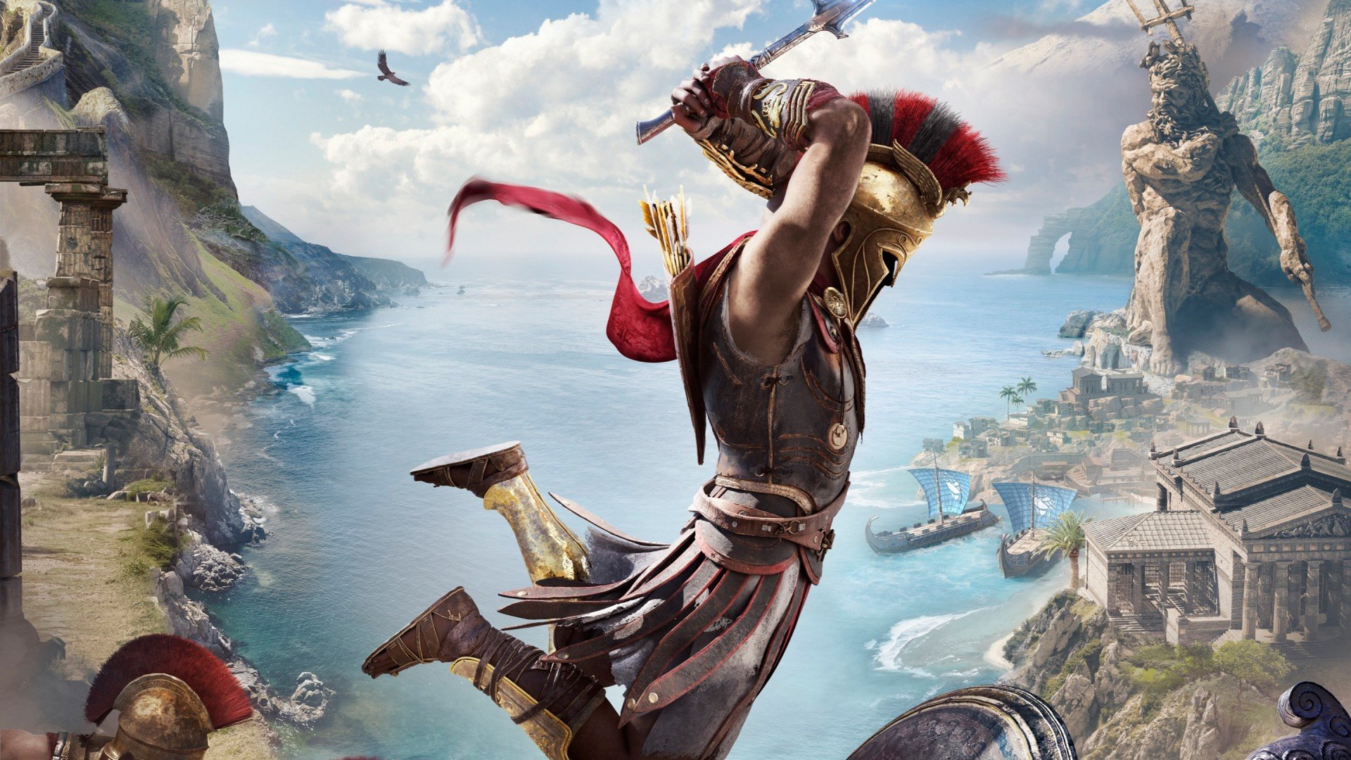 Assassin's Creed Odyssey's Final Atlantis DLC Gets a Gameplay Preview