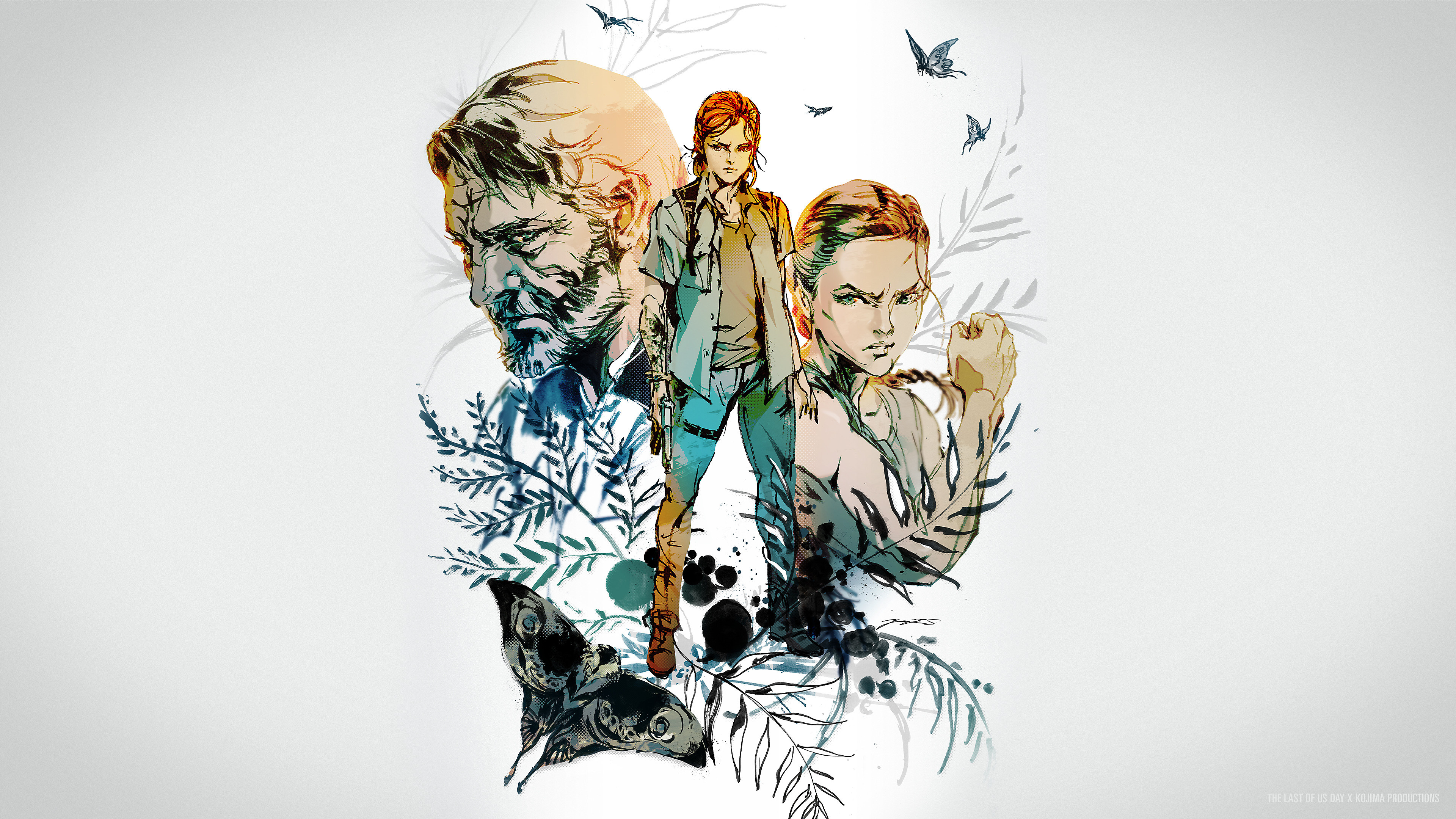 Metal Gear Artist Creates Stunning Last Of Us 2 Illustration Perfect For Wallpaper Push Square