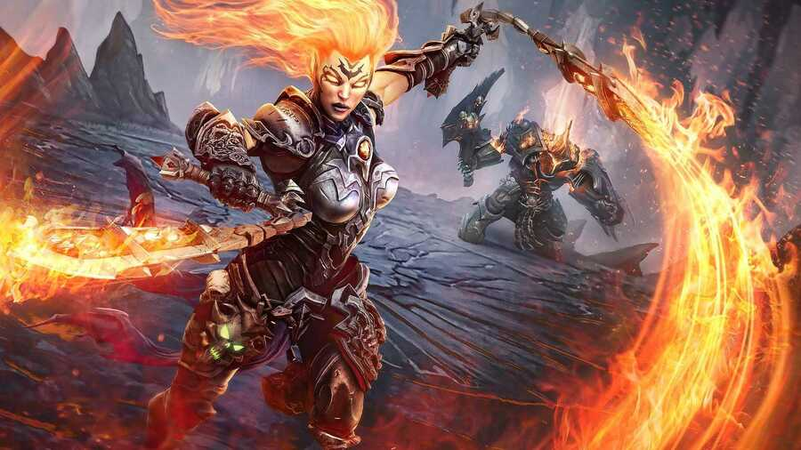 Darksiders III Interview PS4 PlayStation 4