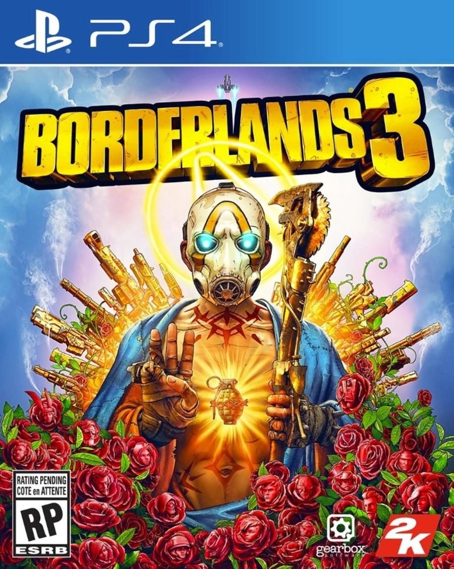 Borderlands 3 PS4 PlayStation 4 Box Art 1
