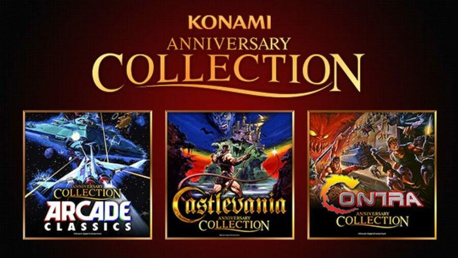 Konami Anniversary Collection Castlevania Contra Arcade PS4 PlayStation 4