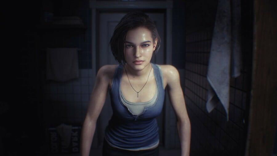 Jill in Resident Evil 3 remake