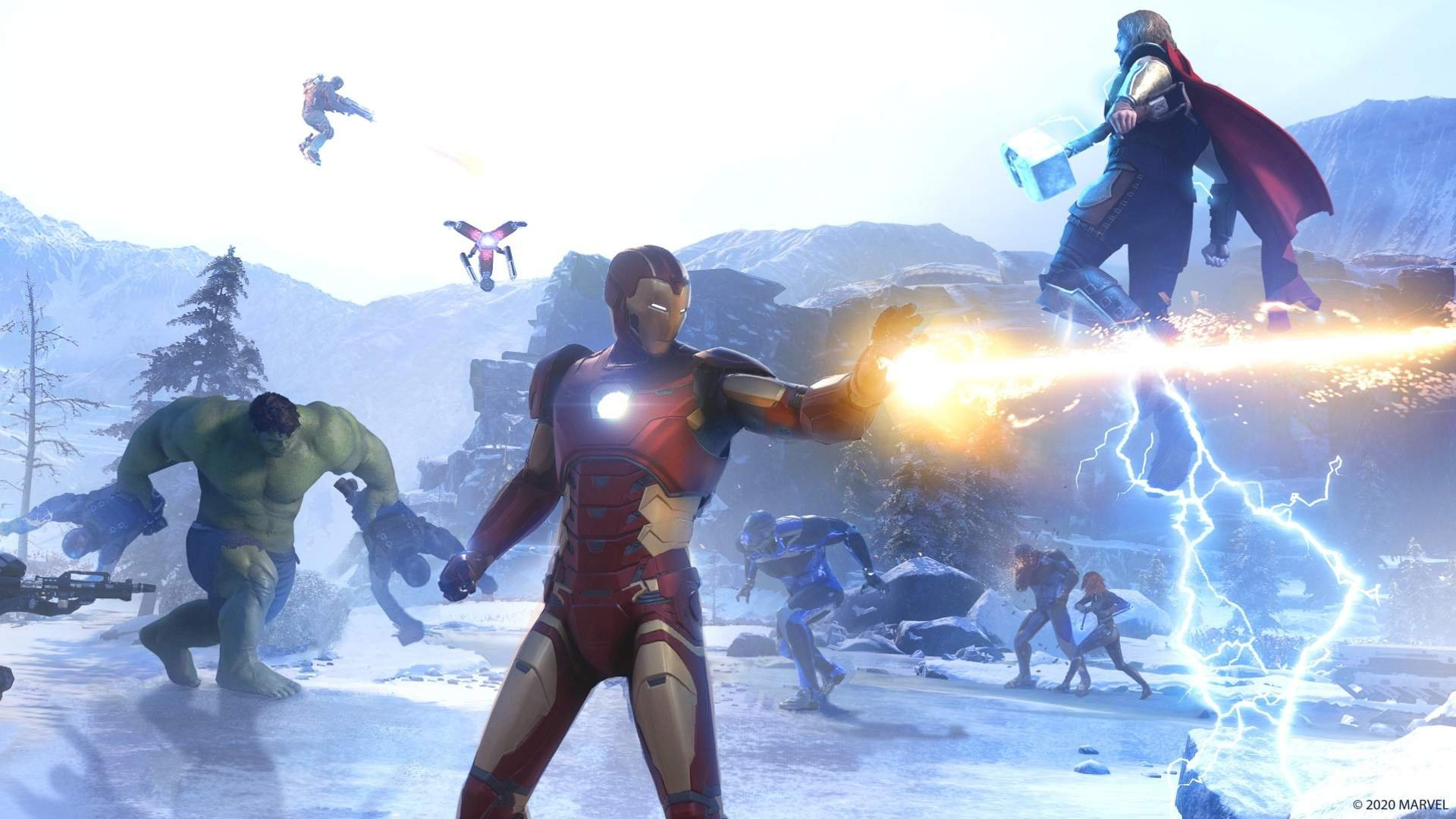 Marvel S Avengers Game Does It Have Multiplayer Push Square