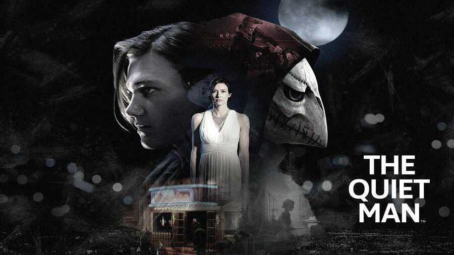The Quiet Man PS4 PlayStation 4