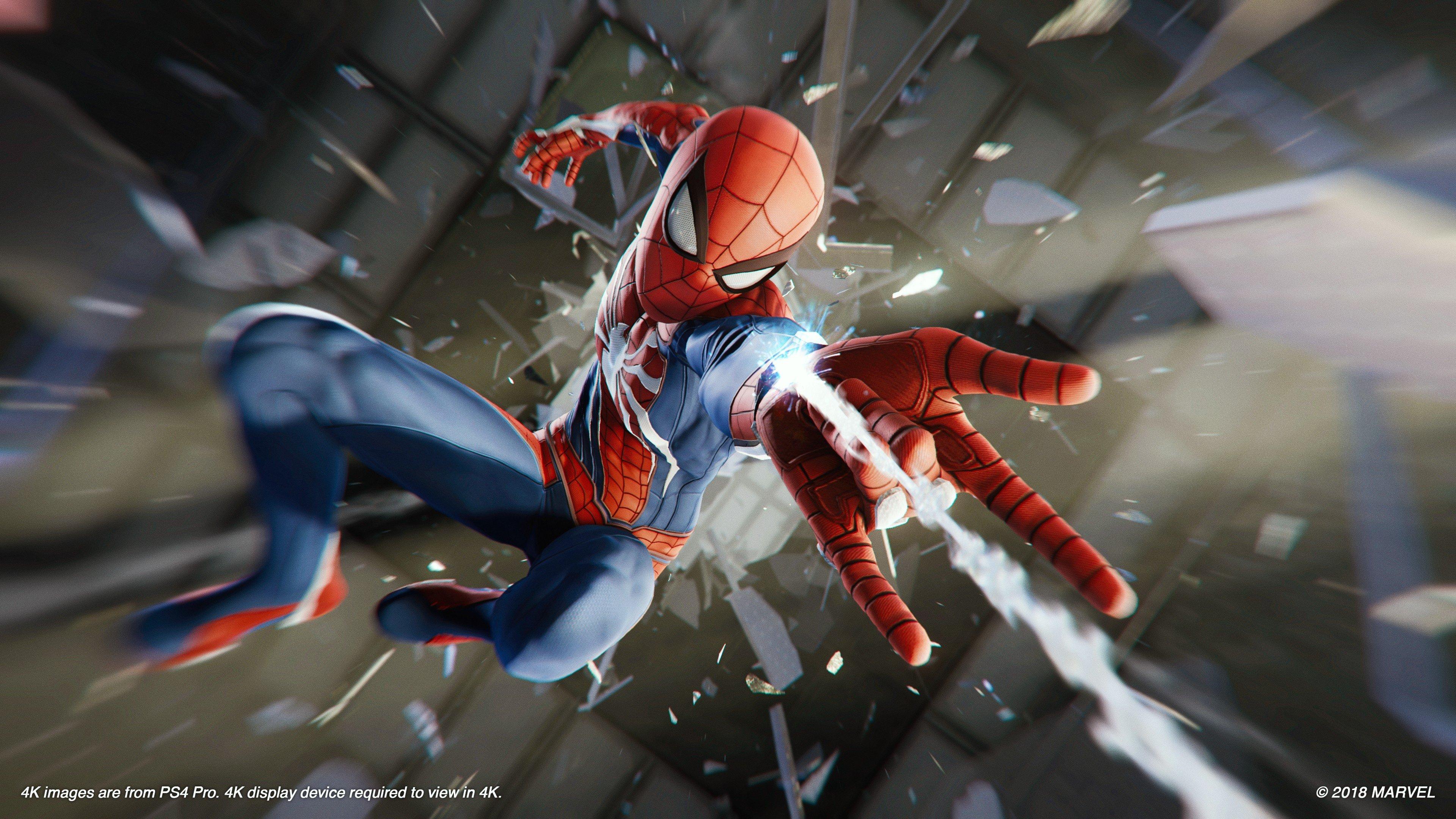 marvel spider man ps4 collectors edition statue