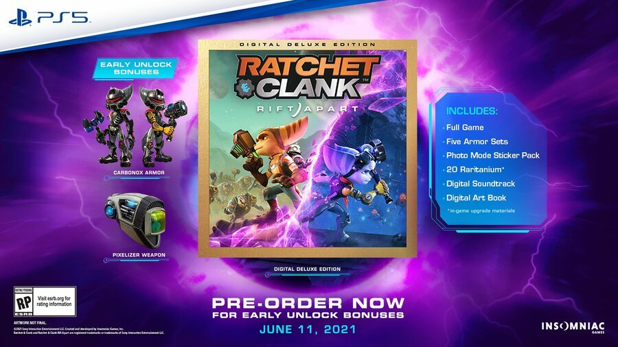 Ratchet & Clank Rift Apart PS5 PlayStation 5 1