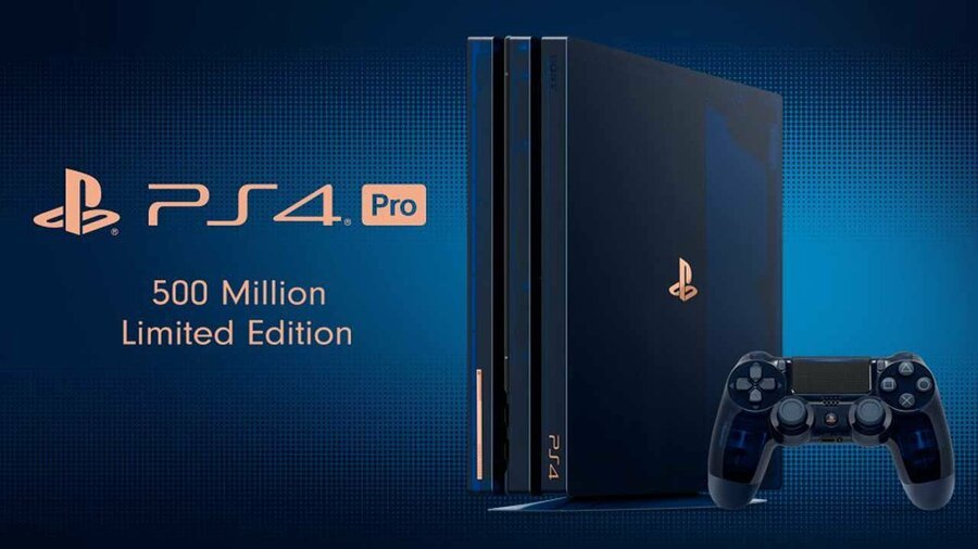 """PS4 Pro Limited Edition """"500 Million"""" Console"""