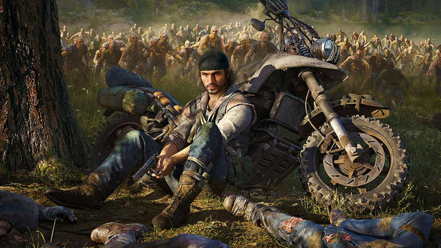 Days Gone Free Update Uncharted 4 Bike Skins PS4 PlayStation 4