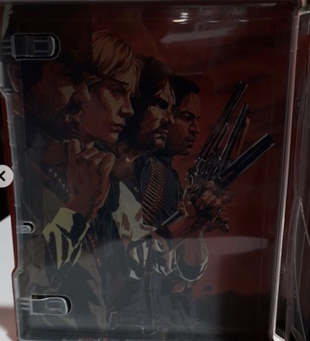 Red Dead Redemption 2 Steelbook PS4 PlayStation 4