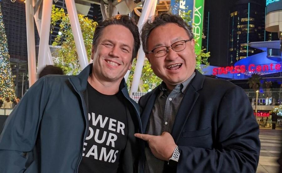 Phil Spencer Shuhei Yoshida Sony Microsoft 1