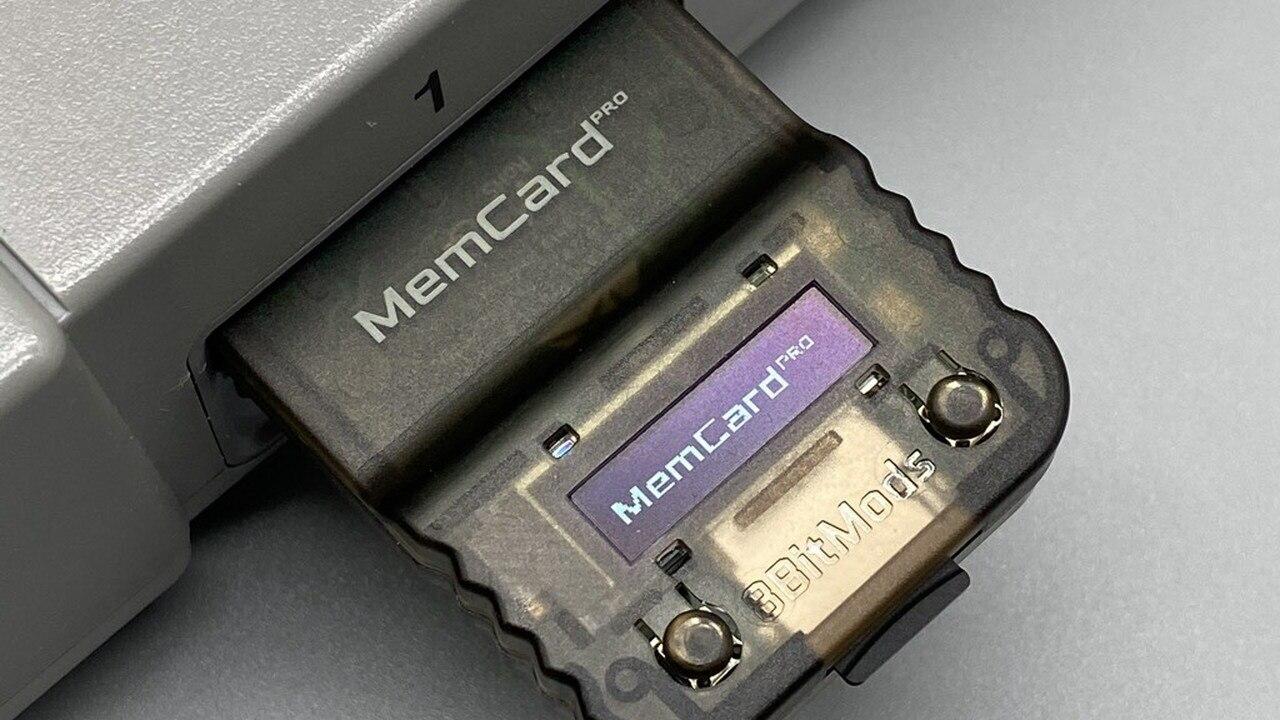Купите MemCard Pro, и вам больше никогда не понадобится карта памяти PS1
