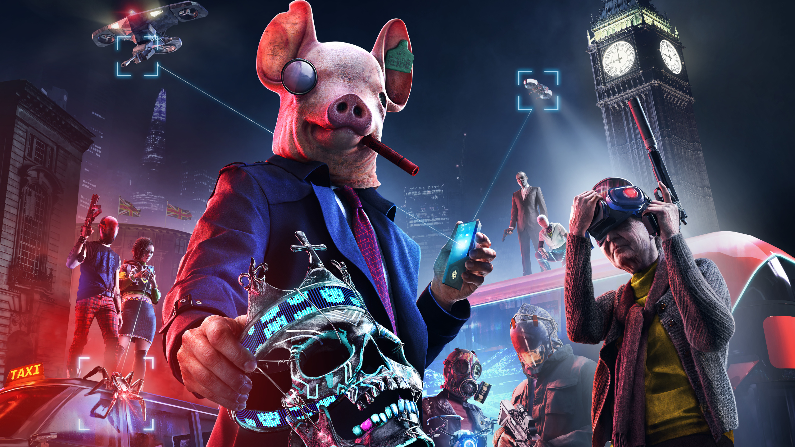 Watch Dogs Legion 'will take full advantage' of PS5 and Scarlett