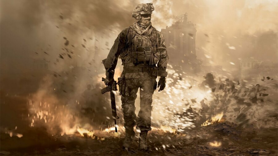 Call of Duty: Modern Warfare 2 Campaign Remastered PS4 PlayStation 4 Plus