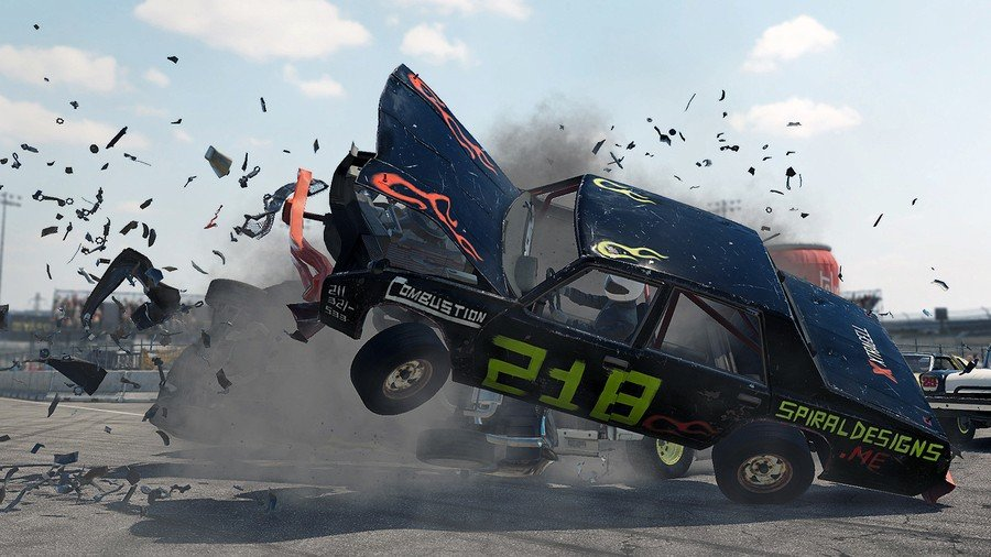 PS Plus PlayStation Plus PS5 PS4 May Wreckfest