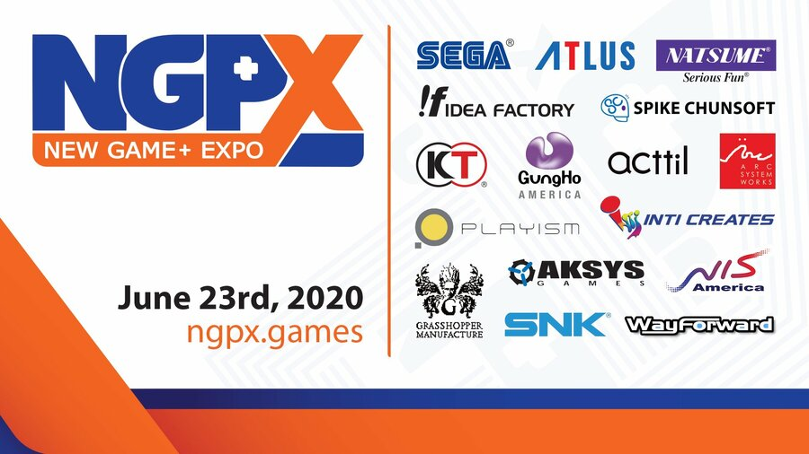 New Game+ Expo Dates Times