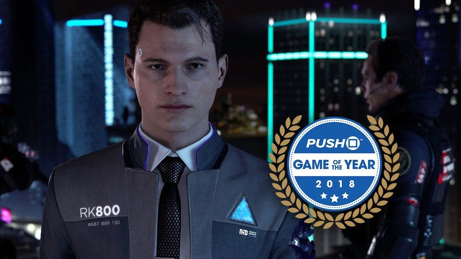 Detroit: Become Human Game of the Year #5