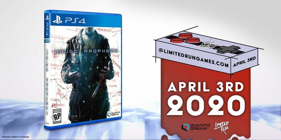 Indigo Prophecy PS4 PlayStation 4 1