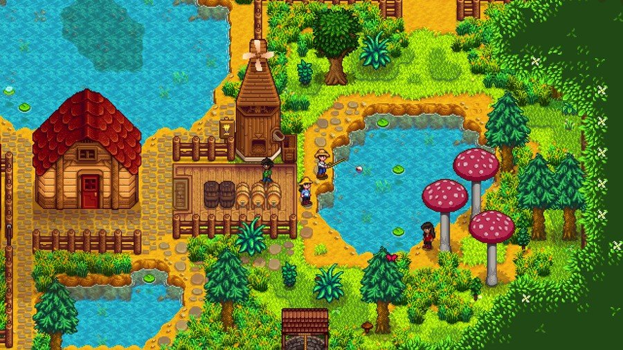 Stardew Valley Multiplayer Update PS4 PlayStation 4