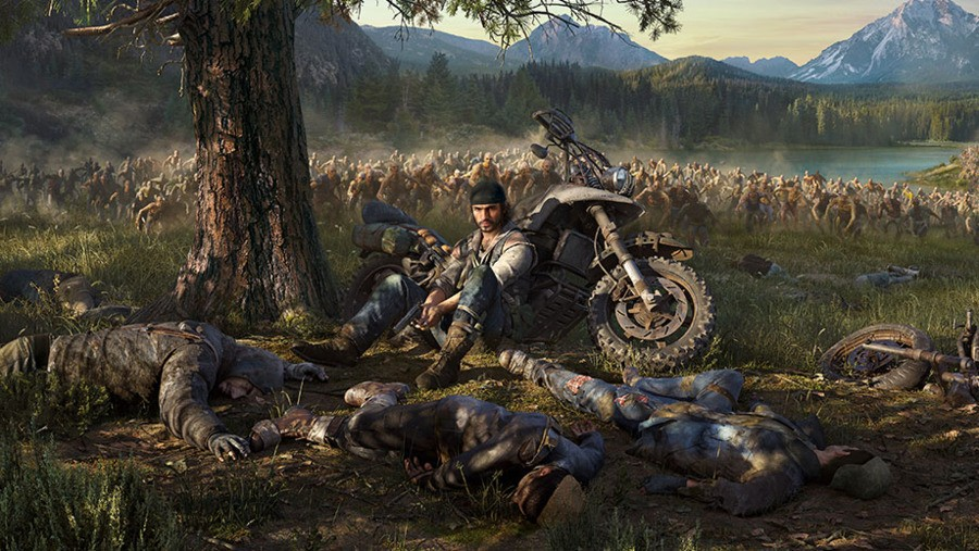 Days Gone PS4 PlayStation 4 Sony 1