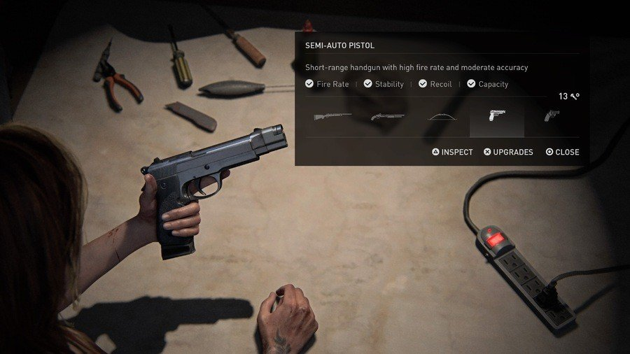 The Last of Us 2 Weapons Guide Semi-Auto Pistol