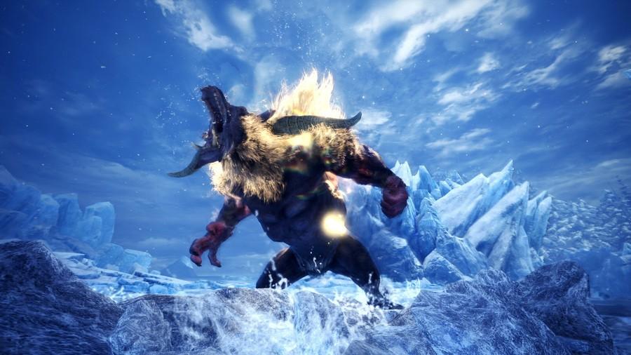Monster Hunter World Iceborne Update PS4 Furious Rajang Raging Brachydios