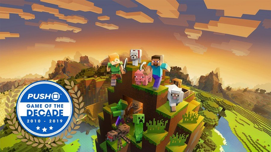 Minecraft Game of the Decade PS4 PlayStation 4 1