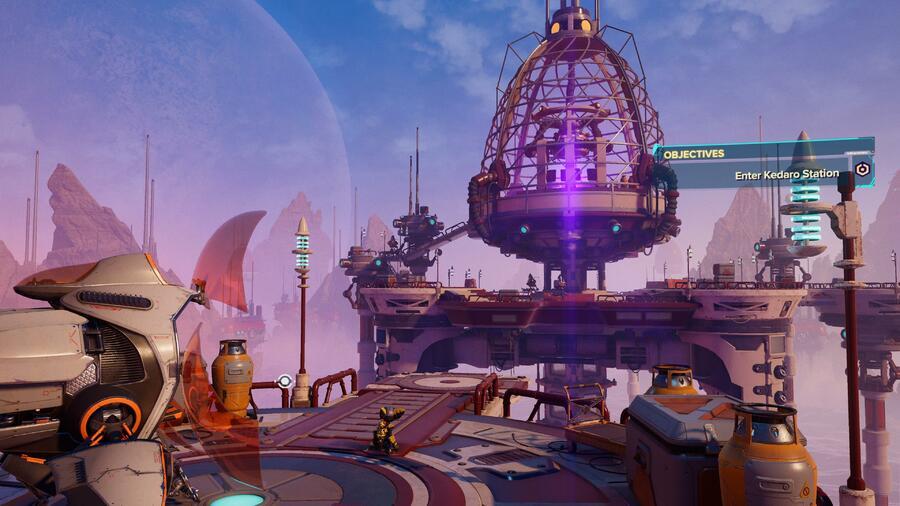 Ratchet & Clank: Rift Apart: Cordelion (Kedaro Station) - All Collectibles: Spybots, Gold Bolts, Armour, CraiggerBears 1