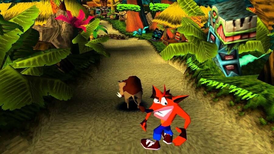 Crash Bandicoot PS1 PlayStation 1