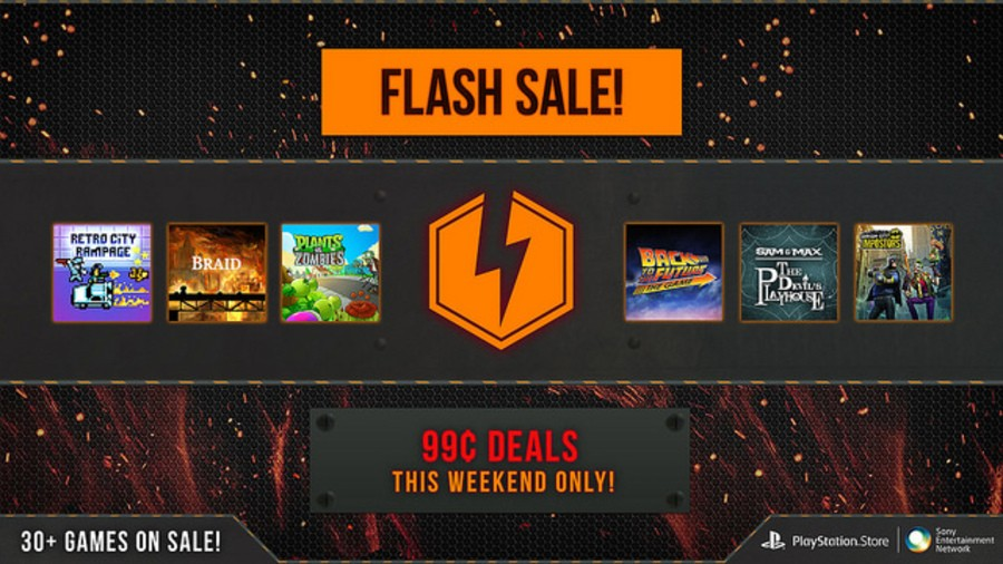 PlayStation Network Flash Sale