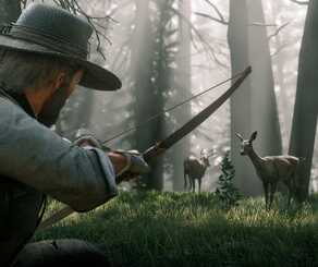 red dead redemption 2 bow and arrow