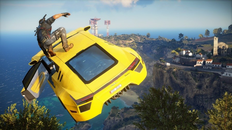 Just Cause 3 PS4 PlayStation 4 Reviews Round Up