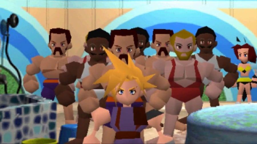 Final Fantasy VII Honey Bee Inn Remake PS4 PlayStation 4